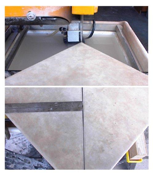 how to cut quarry tiles diagonally