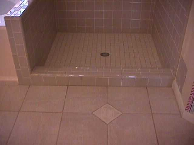 Tile Shower Start To Finish