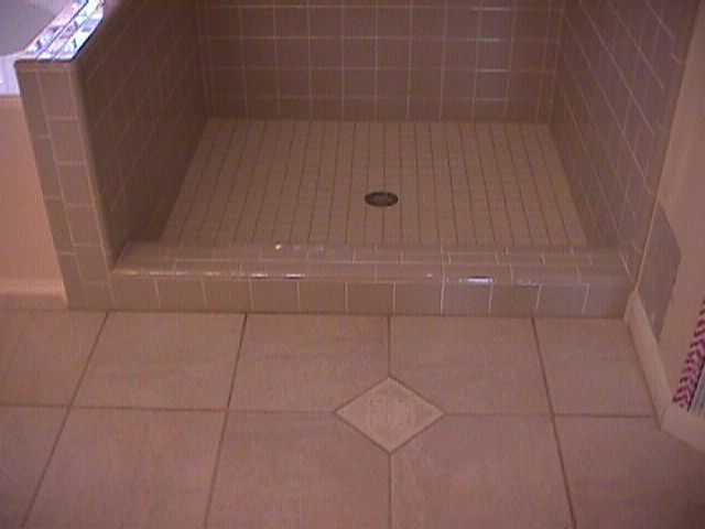 Tile Shower Start Finish