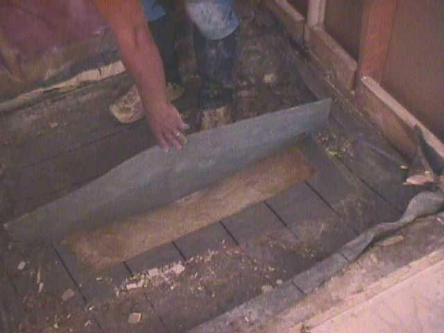 how to make a shower base on concrete