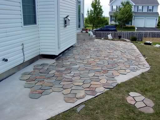 Patio Slate Install Need Help Please Ceramic Tile Advice Forums
