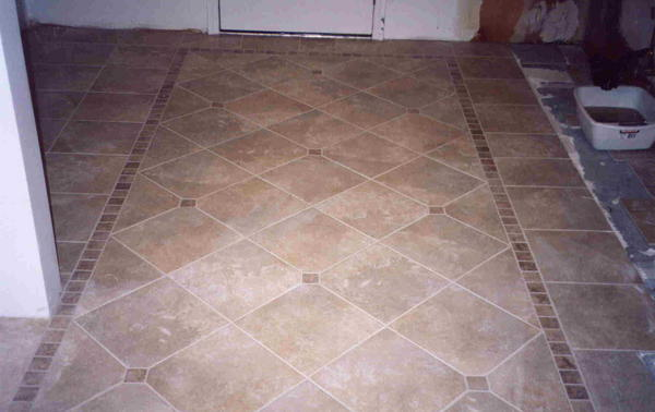 Square Border For Diagonal Layout Ceramic Tile Advice Forums John Bridge