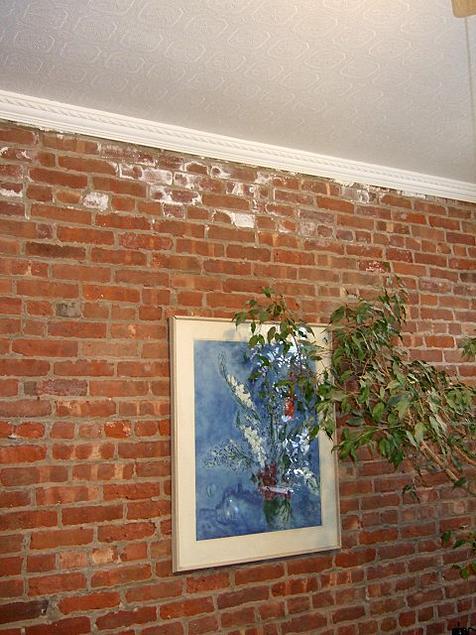 Sealing Exposed Brick Interior Wall