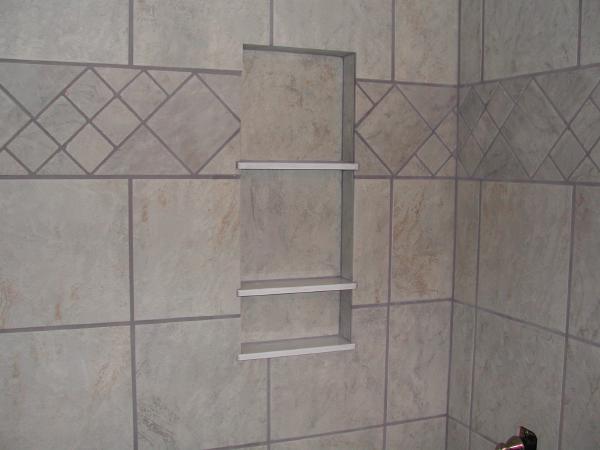 Shower Shelf Ceramic Tile Advice Forums John Bridge