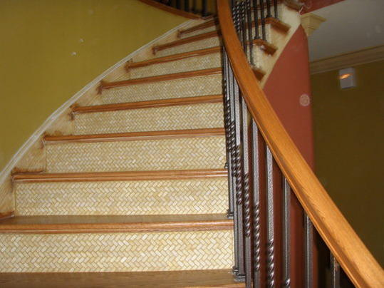 Tiling Stair Risers Ceramic Tile