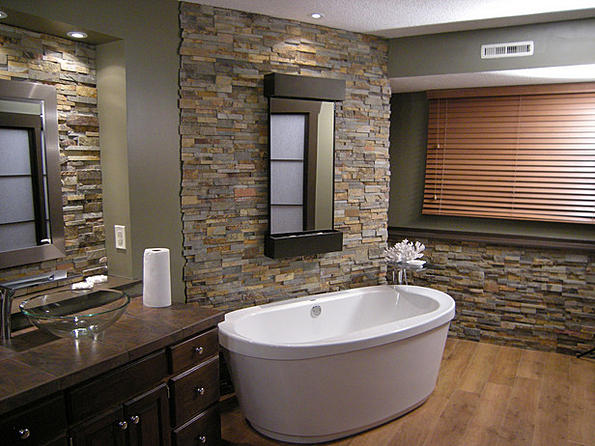 Slate And Stacked Stone Ceramic Tile Advice Forums