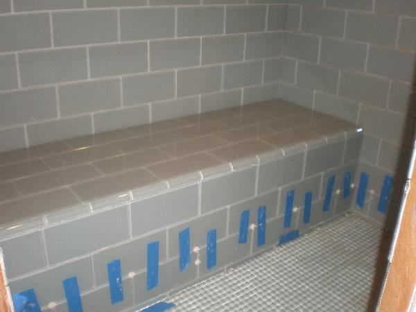 Tiling a shower Curb w/o bullnose??? - Ceramic Tile Advice Forums ...