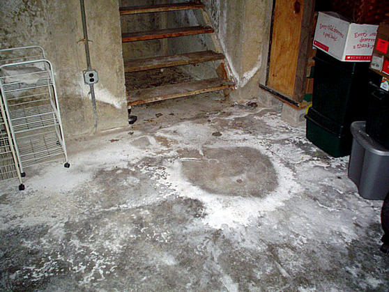 Why Is Basement Concrete Floor Powdery Ceramic Tile