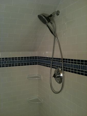matching a running pattern on a slanted ceiling - Ceramic Tile ...