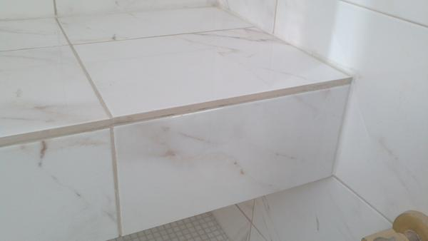Can Trim Be Added After Grout Ceramic Tile Advice