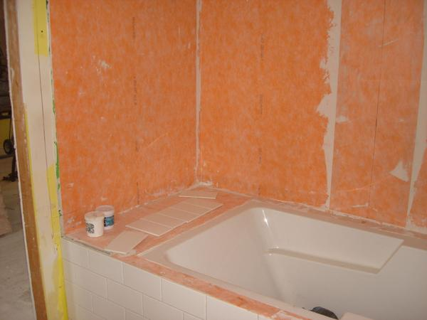 Kerdi Undermount Tub Ceramic Tile