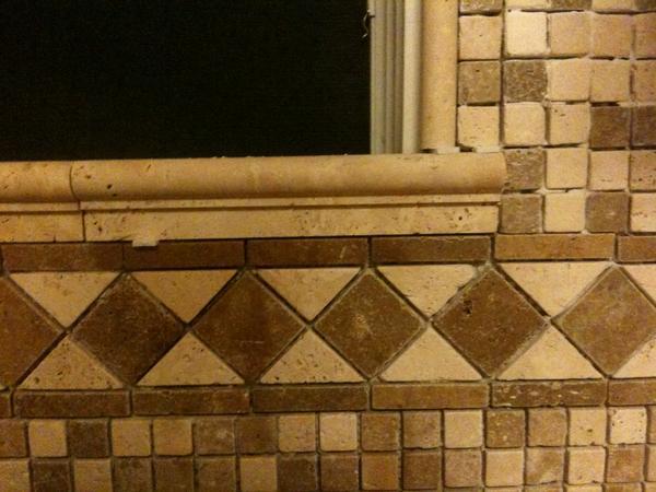 elam backsplash project tile around window ceramic