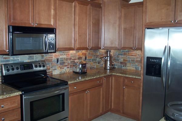 Slate Ledgestone Backsplash Ceramic Tile Advice Forums John Bridge Ceramic Tile