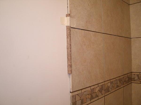 Tiled Shower Edge mounting trim pieces - ceramic tile advice forums - john bridge