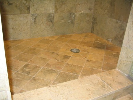 Maximum Size Tiles For Shower Floor Ceramic Tile Advice Forums - 6x6 tiles in shower