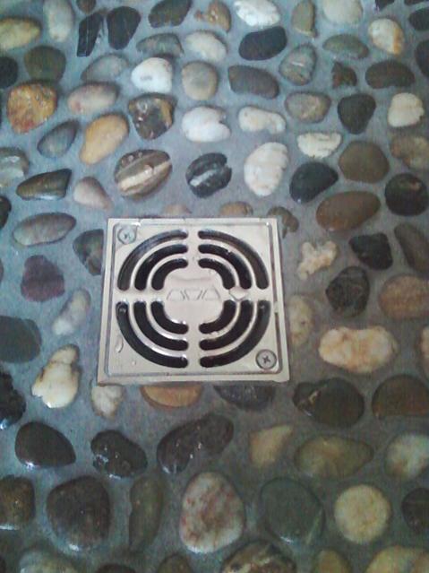 Pebble Shower Floor Problem Ceramic Tile Advice Forums John - Best grout for pebble tile