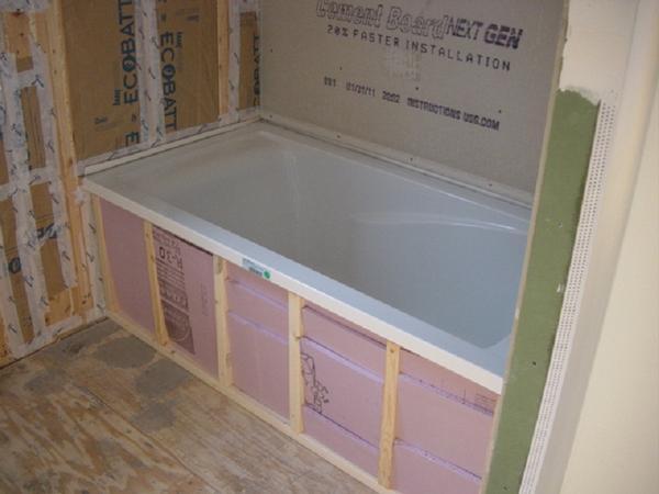 tiling a tub surround - Ceramic Tile Advice Forums - John Bridge ...