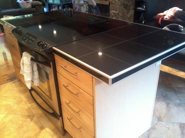 Black Tile Countertop Question - Ceramic Tile Advice Forums - John ...