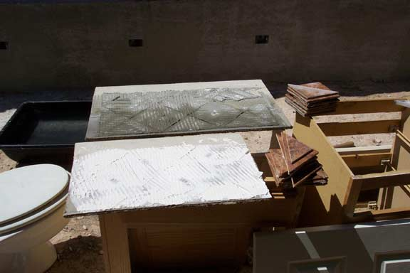 Mastic over Redguard or laticrete 9032 - Ceramic Tile Advice