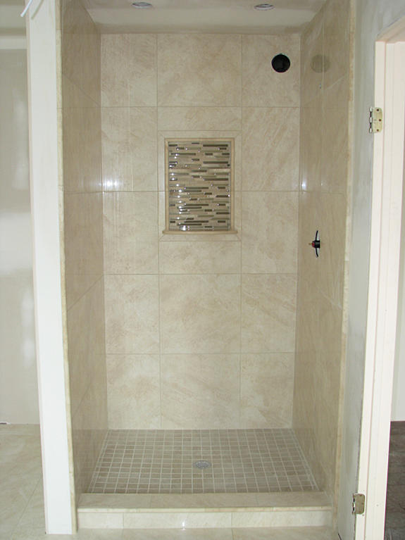 Porcelain limestone large format project ceramic tile for Large format glass tile