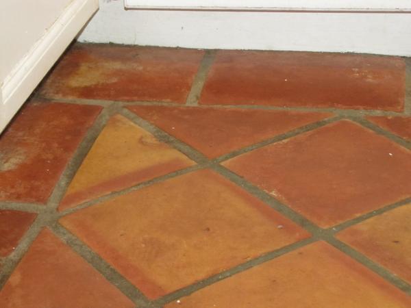 Restoring Terracotta Floor Mexican Tile Ceramic Tile