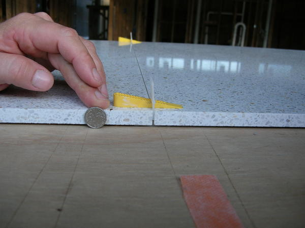 Is 1/16 grout line too ambitious for an amateur? - Ceramic Tile ...