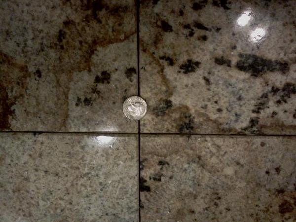 Is 116 Grout Line Too Ambitious For An Amateur Ceramic Tile