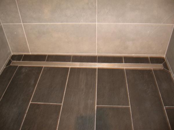 Long Tile Shower With Linear Drain Ceramic Tile Advice