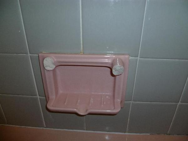 Removing Broken Ceramic Wall Mount Soap Dishes Ceramic