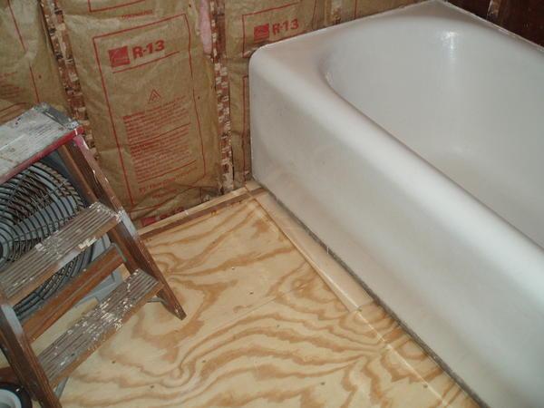 Warped tub causing tiling headache - Ceramic Tile Advice Forums ...