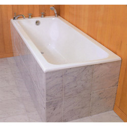 Flush face tile front tub?   Ceramic Tile Advice Forums   John