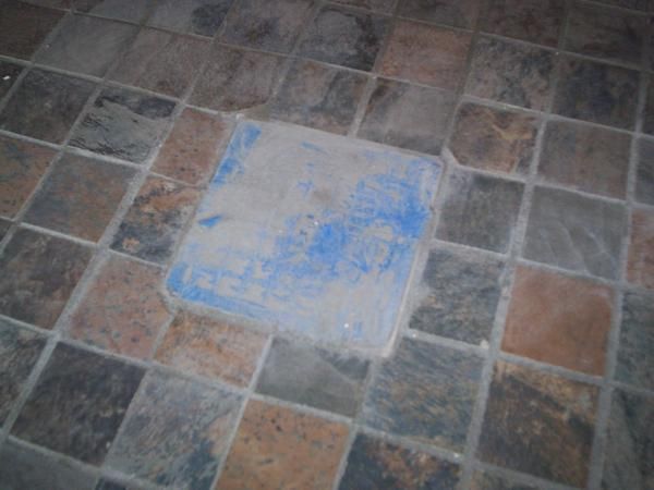 Tile Around Shower Drain Ceramic Tile Advice Forums John Bridge - Ceramic tile places near me