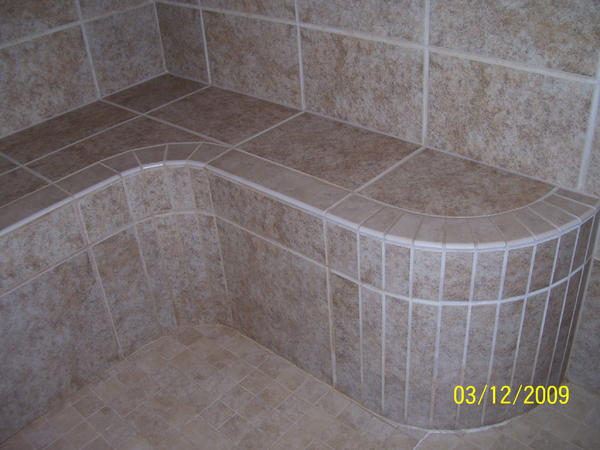 looking for a floating curved shower bench - Ceramic Tile Advice ...
