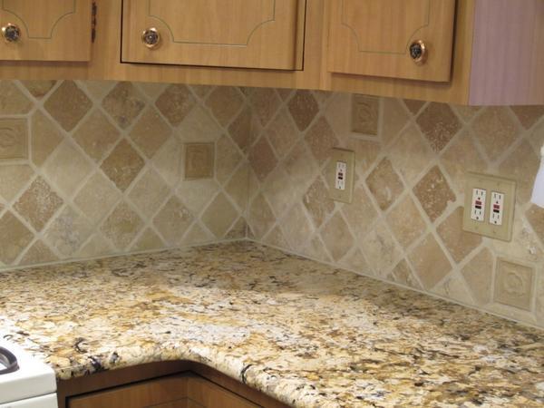 4x4 travertine backsplash on a 45 page 10 ceramic tile