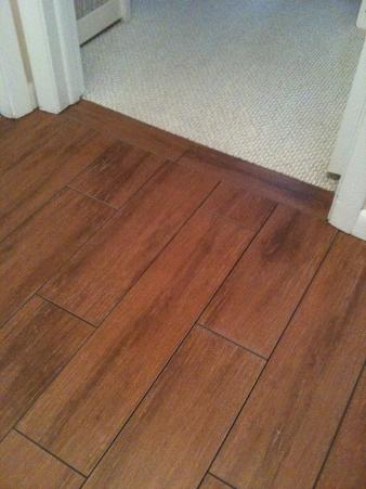 Wood Look Tile Install Project Ceramic Tile Advice