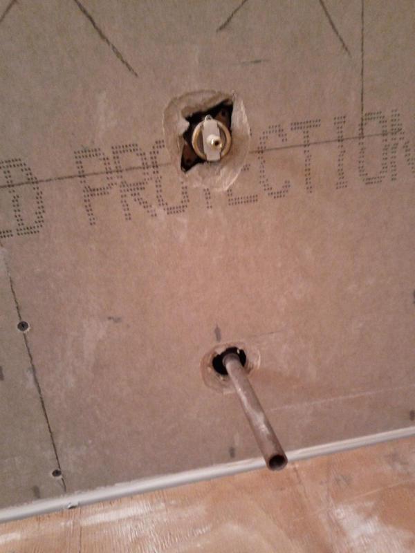 How To Install Backer Board Around Shower Valve - Round Designs