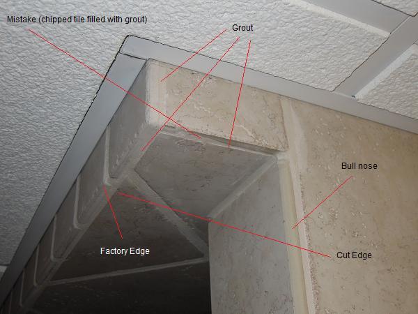 Cutting Bullnose Tile Corners Tile Design Ideas
