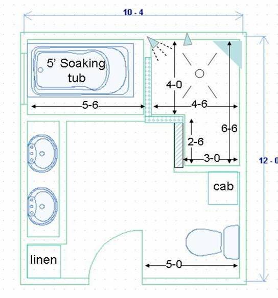 Floor plan ada bathroom dimensions on ada public bathroom floor plans - Newbie Homebuilder Masterbath Layout Ceramic Tile