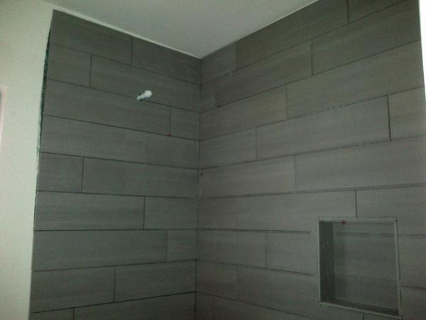 tile to ceiling uneven ceiling - Ceramic Tile Advice Forums - John Bathroom Tile To Ceiling on bathroom lighting to ceiling, best tile for bathroom ceiling, subway tile to ceiling, all tile bathroom floor and ceiling, bathroom vanity to ceiling, ceramic tile on shower ceiling, tile backsplash to ceiling, bathroom mirrors to ceiling, i should tile the bathroom ceiling,