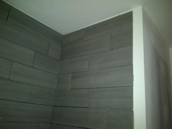 Tile To Ceiling Uneven Ceiling Ceramic Tile Advice