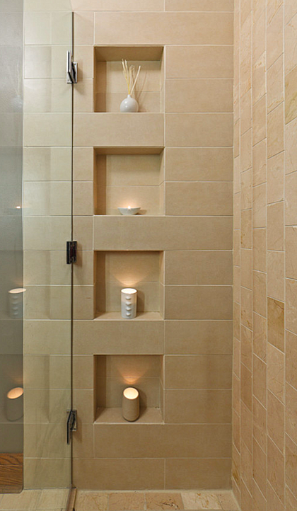 Shower Niche Bullnose Or Miter Ceramic Tile Advice