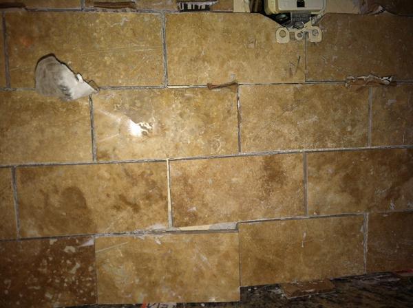 New Backsplash Bad Tile Job Ceramic Tile Advice