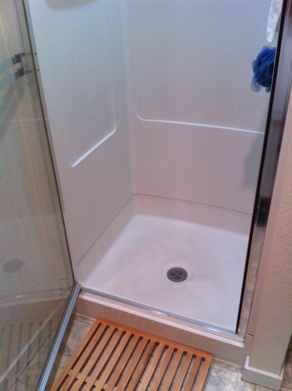Replacing a Plastic Shower Insert - Ceramic Tile Advice Forums ...