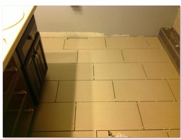 Offset Floor Tile Pattern >> 12x24 tile - Herringbone pattern ? - Page 2 - Ceramic Tile ...
