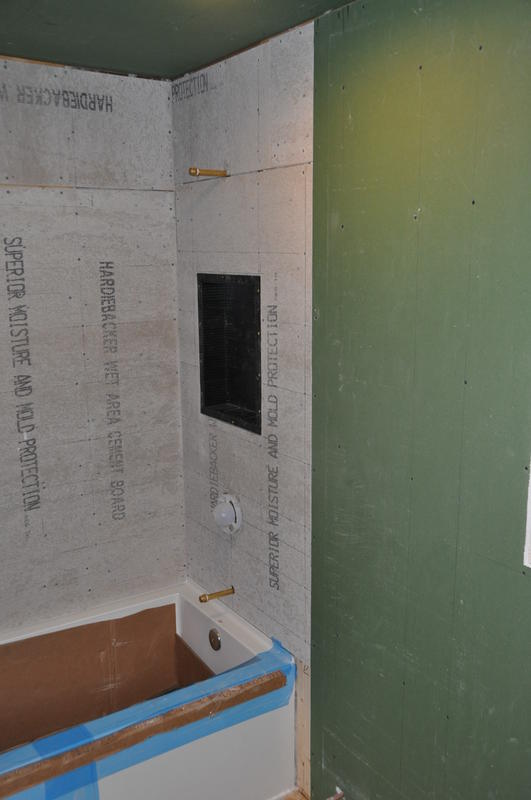 Drywall To Tile Transition Miguel Barcelo