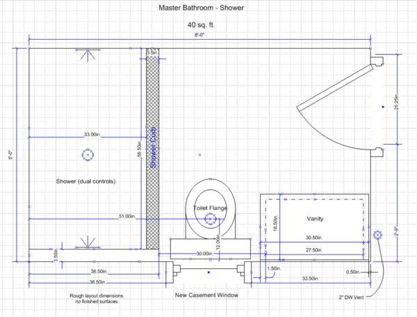 Name  Master Bath layout jpg Views  3656 Size  41 0 KB. PC  39 s Bathroom Renovations   Page 37   Ceramic Tile Advice Forums