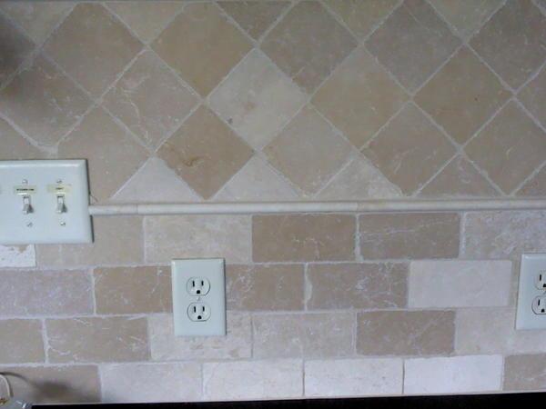 How Do I Lighten My Stone Tile Backsplash Ceramic Tile