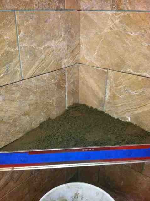 how do you install a floating shower bench? - Ceramic Tile Advice ...