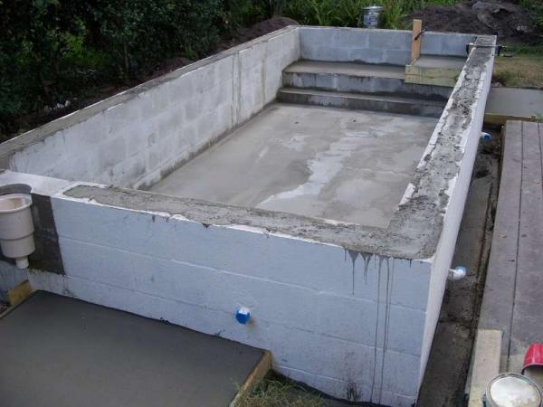 Home Made Swimming Pool Ceramic Tile Advice Forums John Bridge Ceramic Tile