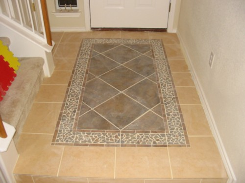 Question About A Quot Rug Inlay Quot Ceramic Tile Advice Forums